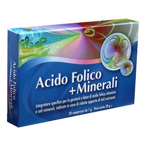 ACIDO FOLICO + Minerali 20cpr