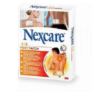 NEXCARE CER RISC HEAT PATCH 5P